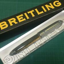 RARE!! BREITLING Ballpoint-pen Brown-marble color with Box Novelty Not for sale