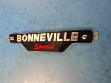 Genuine triunfo insignia de panel lateral especial de T140D 83-7357 1979 T140D Bonneville