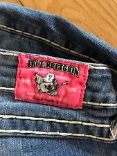 True Religion Damen Jeans W28 L34 straight leg, Größe 36/38, Billy SuperT