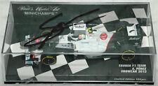 Sergio Perez Signed Minichamps 1/43 2012 Sauber F1 Model