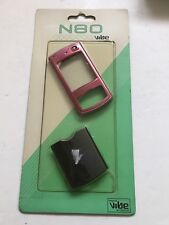 Nokia N80 - Full Fascia Housing Cover Front Back Case Keypad Replacement Pink