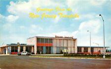 Auto Howard Johnson 's Restaurant New Jersey 1950s Postcard 8924
