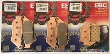 BMW F700GS (2013 to 2018) EBC Double-H Sintered FRONT and REAR Disc Brake Pads