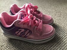 Pink Glitter Heelys Size UK3