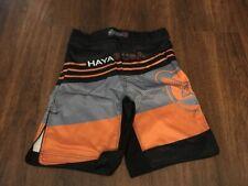 Hayabusa Kyoudo Prime MMA Shorts - Orange Large (34) - Free Shipping