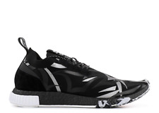 Adidas Consortium x Juice NMD Racer Boost (black/silver /white) size 9.5 US
