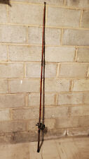 Antique bamboo fishing rod and reel