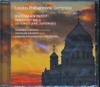 London Philharmonic Orchestra Rachmaninoff Symphony 3 10 songs CD Jurowski