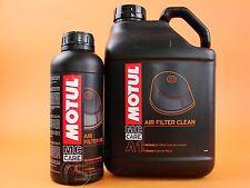 Luftfilteröl Luftfilterreiniger Motul Mc Care A1 + A3 Air Filter Luftfilter Set