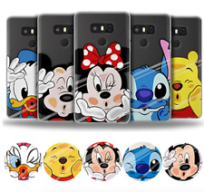 New Disney Cartoon Soft TPU Rubber Phone Shell Case Back Cover for Samsung LG