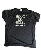 Nike Running Short Sleeve Womens T-shirt Size XL Black