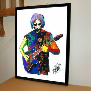 John 5 Rob Zombie Guitar Metal Rock Music Poster Print Wall Art 18x24