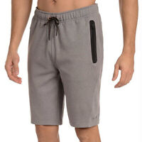 Copper Fit Men's Big And Tall Athletic Gym Shorts Zipper Pockets Running Jogging