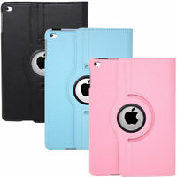Custodia ROTANTE eco pelle stand cover per iPad Air 1 2 / iPad 5 6 2018 9.7""