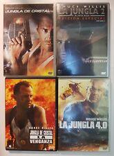 PELICULA DVD PACK JUNGLA DE CRISTAL 1+2+3+4