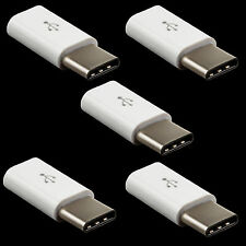 5x Type C to Micro Converter Adapter For Samsung Galaxy S8 S9 Plus Active Note 8