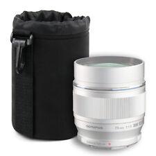 Super-soft Medium Neoprene Lens Pouch for Olympus Zuiko Digital Ed Dslr Lenses