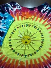 New listing Vintage 80s Grateful Dead 1988 Everybodys Dancin Ring Round Sun Chopped T-Shirt
