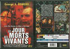 DVD - LE JOUR DES MORTS VIVANTS - GEORGE A. ROMERO / HORREUR COMME NEUF LIKE NEW