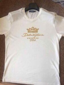 Dolce&Gabbana t shirt men 1984 Crown