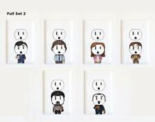 The Office - Michael Scott - Jim Halpert - Electric Outlet Wall Art Sticker