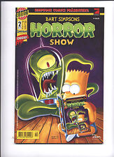 Bart Simpsons Horror Show 2 Simpsons Comics Sonderheft Dino 1998 Z1