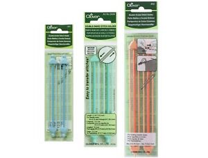 Clover 2x Double Ended Stitch Holders Small Medium Large Cable Needles