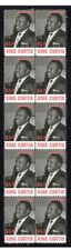 KING CURTIS MUSIC ICON STRIP OF 10 MINT VIGNETTE STAMPS #1
