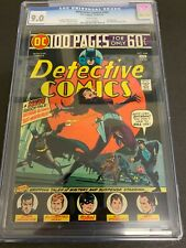 DETECTIVE COMICS #444 * CGC 9.0 * (DC, 1975) 100 PAGE GIANT!!  WHITE PAGES!!