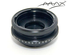 ARAX SHIFT ADAPTER to use P-six, Kiev lens on Sony, Pentax, M42 Camera Camcorder