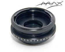 ARAX SHIFT ADAPTER to use P-six, Kiev lens on Sony, Pentax, M42 Camera Camcorder