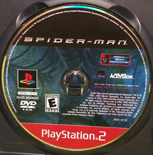Spider-Man (Sony PlayStation 2, 2002) - DISC ONLY