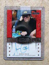 2010 Razor Poker Bracelet Winner Signatures Gold Version JAMIE GOLD /5