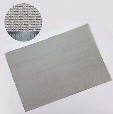 KANTHAL (fecral) CUCITA RETE METALLICA - # 18 X 0,42 mm FILO x 1mm FORO-FOGLIO A4
