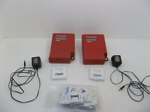 Lot of 2 B-Hemoglobin Photometers Hemocue AB w/ Control Cuvettes