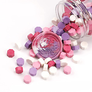 Multicolor Wax Seal Beads, Mixed Color Sealing Wax Beads for Wax Seal Stamp, Wax