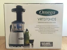 Omega VRT370HDS Low-Speed Masticating Juicer
