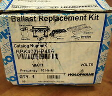 HOLOPHANE RBK400HP48A 400W HPS 480V BALLAST KIT - NEW