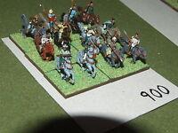 15mm dark ages / hun - 12 Light Cavalry - cav (900)