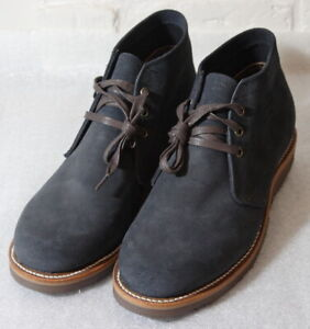 *Chippewa Original Modern Suburban 1901GO7 Navy Suede USA Men's 10E