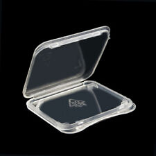 Sale 10x, SD Card Case Plastic Transparent Ultra-thin, Mini SD Plastic Case