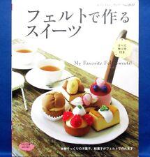 My Favorite Felt Sweets! - Tartlets../Japanese Handmade Craft Pattern Book