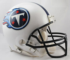 TENNESSEE TITANS NFL Riddell VSR-4 ProLine Full Size AUTHENTIC Football Helmet