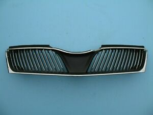 2002 2003 MITSUBISHI DIAMANTE FRONT BUMPER COVER UPPER TOP GRILLE OEM USED 02 03