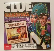 Clue Carnival Game by Hasbro NEW The Case of the Missing Prizes