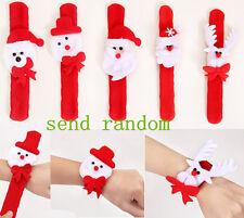 Wholesale Cute Lovely Santa Claus Christmas Circle Bracelet Jewelry Xmas Gift