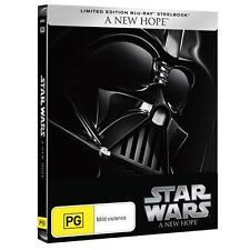 Star Wars: Episode IV - A New Hope(Steelbook(B/R)(Region B)Aussie Release