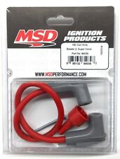 MSD 84039 Blaster 2 Ignition HEI Coil Wire-Super Conductor-8.5mm 90° boots-Red