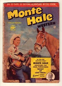 Monte Hale Western #50 - July 1950 Fawcett, Gabby Hayes - Photo cover - Gd (2.0)