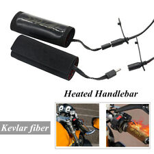 Motorcycle Heated Grips Handlebar With Wires And Switch Heater Cover Warmer Kit